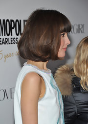 Rose Byrne wore her pageboy haircut subtly curled under while attending the 'Cosmopolitan' Fun Fearless Men and Women of 2012 event.