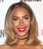 Leona Lewis's face-framing layered cut at Cosmopolitan's 50th birthday celebration was reminiscent of 'The Rachel.'