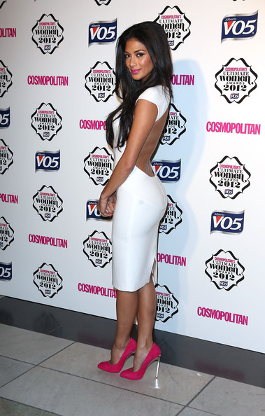 Nicole Scherzinger's Backless LWD