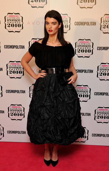 More Pics of Crystal Renn Long Straight Cut (1 of 3) - Long Hairstyles Lookbook - StyleBistro [cosmopolitan ultimate women of the year awards 2010,clothing,dress,cocktail dress,carpet,little black dress,red carpet,hairstyle,fashion model,premiere,fashion,arrivals,crystal renn,cosmopolitan ultimate women of the year awards,england,london,banqueting house]
