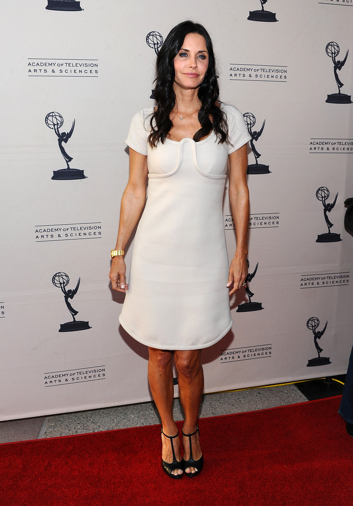 Courteney Cox Cocktail Dress Courteney Cox Looks