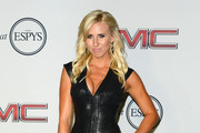 Courtney Force Leather Dress
