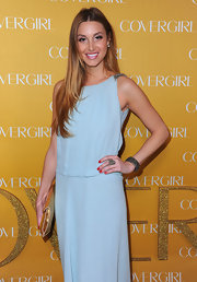 Whitney Port attended CoverGirl Cosmetics 50th Anniversary party wearing a smoky crystal stretch bracelet.