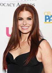 Debra Messing gave us hair envy with her sleek straight tresses at the 2018 Television Industry Advocacy Awards.