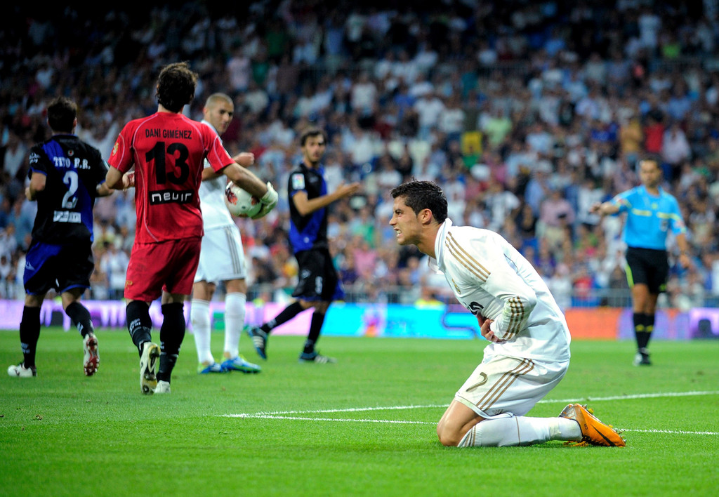 efbecf4ce Cristiano rocked orange cleats at the Real Madrid game. Cleats. Cristiano  Ronaldo