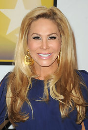 Adrienne Maloof wore her luxurious locks in a side part for the Critics' Choice Television Awards.