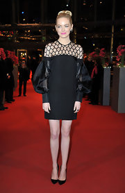 Emma Stone really took the LBD to a whole new world in this creative number!