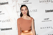 Crystal Reed Fur Purse
