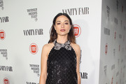 Crystal Reed Little Black Dress
