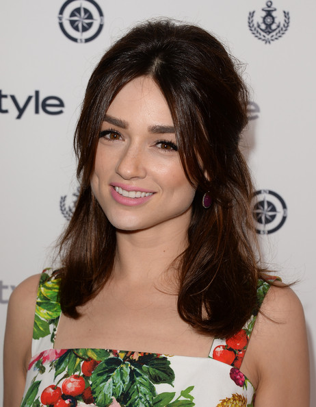 Crystal Reed Hair