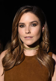 Sophia Bush looked lovely wearing this perfectly styled feathered flip at the Cushnie et Ochs fashion show.