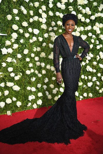 Cynthia Erivo Mermaid Gown