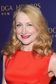 Patricia Clarkson attended the DGA Honors wearing her hair in ladylike curls.