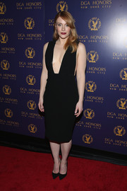 Bryce Dallas Howard made eyes pop with this little black dress boasting a down-to-the-navel neckline (and it was backless too!) at the DGA Honors.
