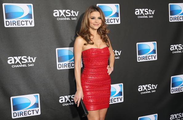More Pics of Maria Menounos Satin Clutch (1 of 7) - Maria Menounos Lookbook - StyleBistro