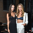 Emily Ratajkowski and Nina Agdal at DKNY Women's