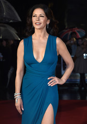 Catherine Zeta-Jones made an ultra-luxe statement with this Bulgari Serpenti bracelet at the world premiere of 'Dad's Army.'