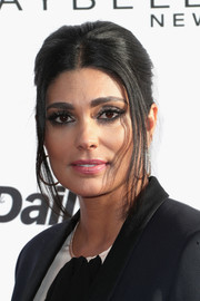 Rachel Roy went for retro elegance with this center-parted updo at the Fashion Los Angeles Awards.