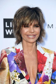Lisa Rinna attended the 2018 Fashion Los Angeles Awards sporting her usual layered razor cut.