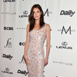 Hilary Rhoda at the 4th Annual Fashion Media Awards