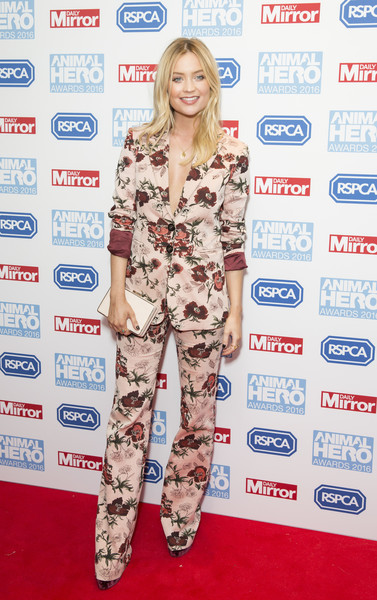 More Pics of Laura Whitmore Pantsuit (1 of 4) - Suits Lookbook - StyleBistro
