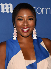 Alicia Quarles wore a breezy pixie cut at the DailyMail.com Summer Party.