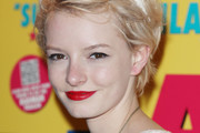 Dakota Blue Richards Red Lipstick