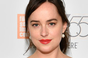 Dakota Johnson Bright Lipstick