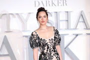Dakota Johnson Embroidered Dress