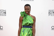 Danai Gurira One Shoulder Dress
