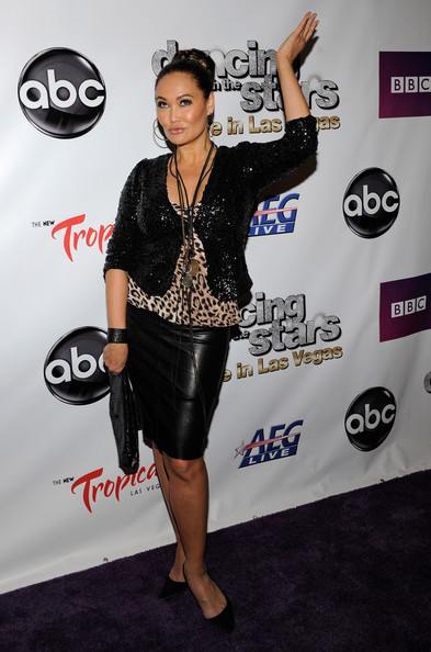 More Pics of Tia Carrere Braided Bun (1 of 19) - Tia Carrere Lookbook - StyleBistro
