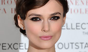 Keira Knightley added a lot of rich black liner, mascara and deep warm shades of shadow to create her smoky-eyed look at the UK premiere of 'A Dangerous Method.'