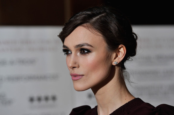 More Pics of Keira Knightley Loose Bun (5 of 34) - Loose Bun Lookbook - StyleBistro