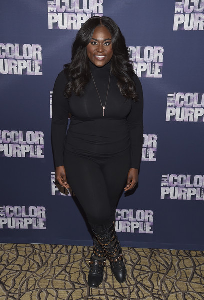Danielle Brooks Studded Boots
