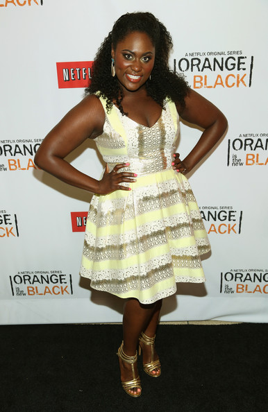 Danielle Brooks Print Dress