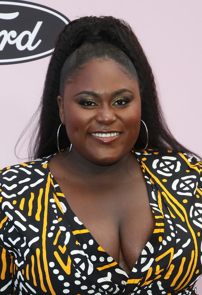 Danielle Brooks Ponytail [hair,hairstyle,black hair,danielle brooks,beverly hills,california,beverly wilshire four seasons hotel,essence black women in hollywood awards luncheon,danielle brooks,beauty,ponytail,image,photograph,photography,livingly media,fashion]