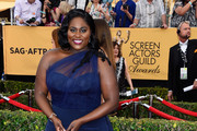 Danielle Brooks One Shoulder Dress