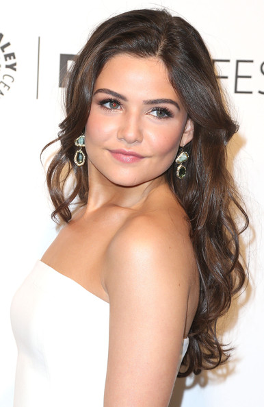 Danielle Campbell Dangling Gemstone Earrings