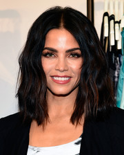 Jenna Dewan-Tatum styled her hair with high-volume waves for the Danskin Fall collection celebration.