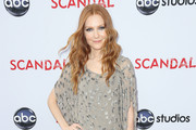 Darby Stanchfield Leather Pants