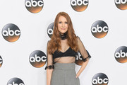 Darby Stanchfield Sheer Top