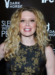 Natasha Lyonne sported voluminous curls at the premiere of 'Sleeping with Other People.'