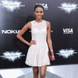 Miss Universe Leila Lopes in a Little White Dress