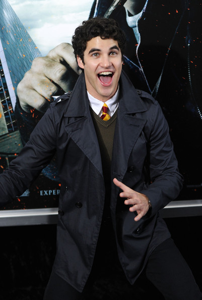 Darren Criss Striped Tie