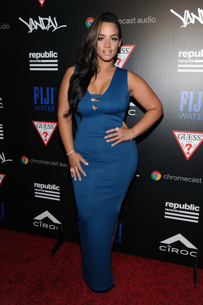 Dascha Polanco Form-Fitting Dress