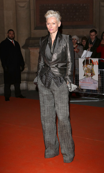 More Pics of Tilda Swinton Blazer (1 of 3) - Tilda Swinton Lookbook - StyleBistro