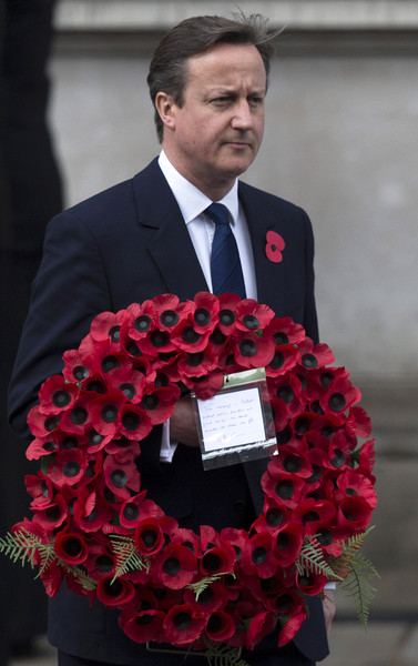 British Royal Family And Government Mark The Gallipoli Centenary At The Cenotaph