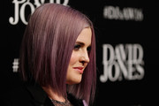 Kelly Osbourne worked a sleek center-parted bob at the David Jones fashion launch.