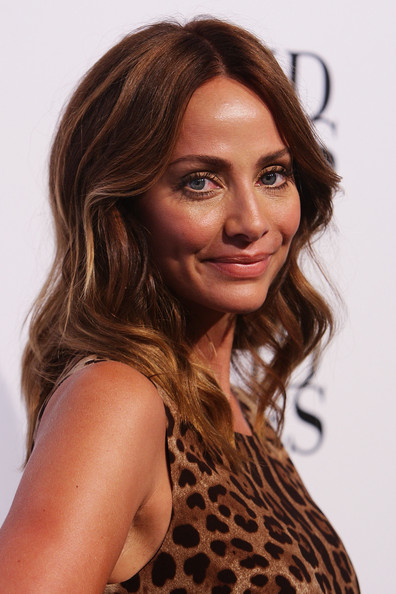 Natalie Imbruglia wore her hair in sexy waves for the 2011 David Jones fashion launch.