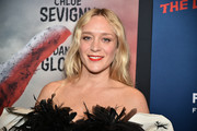 Chloe Sevigny opted for a subtly wavy hairstyle when she attended the New York premiere of 'The Dead Don't Die.'
